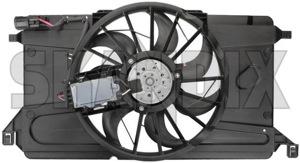 Electrical radiator fan 31261987 (1044591) - Volvo C30, C70 (2006-), S40 V50 (2004-) - cooler cooling fans electrical radiator fan electrically engine fans fan motor Genuine