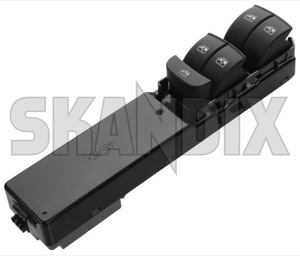 Switch, Window winder 12772023 (1046054) - Saab 9-3 (2003-) - switch window winder window lifter window regulator windowlifter windowregulator windowwinder Genuine activated amenitiesfuntions auto autodownfunctions be by comfortfunctions convenience door door  down drivers driver s front function luxuryfunctions must side software up with