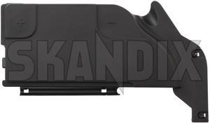Cover, Battery box 12771194 (1046462) - Saab 9-3 (2003-) - batteryboxcover batteryboxlid batterycasecover batterycaselid boxcover boxlid cover battery box lid Genuine