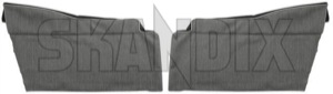 Cover, Interior panel Side panel Kit for both sides  (1046725) - Volvo PV - cover interior panel side panel kit for both sides Own-label 1 110 1110 1 110 both cardboard cover drivers for grey kit left lower only only  panel passengers right shaped side sides without