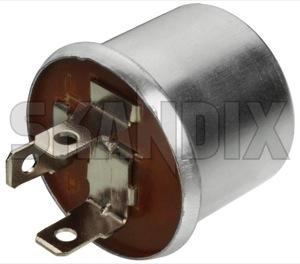 Relay Flasher unit 12V 1210124 (1046751) - Volvo 120 130 220, 140, 164, P1800, P1800, P1800ES - 1800e p1800e relais relay flasher unit 12v skandix 12v 3 3terminal flasher flasherrelay hazard lights terminal unit