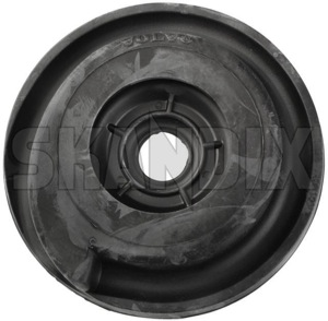 Spacer, Spring mounting Front axle upper Rubber 3530924 (1047595) - Volvo 700, 900 - spacer spring mounting front axle upper rubber spring isolator spring spacer leaf springseat Own-label axle front rubber upper