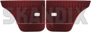 Türverkleidung hinten rot Satz für beide Seiten  (1048170) - Volvo 120 130 - 120 121 122 122s 130 131 amazon amazone autotuerinnenverkleidung autotuerverkleidung innenverkleidung limousine p120 p121 p122 p122s p130 p131 paneel panel sedan stufenheck tuerinnenverkleidung tuerpaneel tuerpanel tuerpappen tuerverkleidung hinten rot satz fuer beide seiten tuerverkleidungen verkleidung verkleidungen Hausmarke 167 502 167502 167 502 510 518 510518 510 518 beide beidseitig beifahrerseite fahrerseite fuer hecktueren hinten hinterer hintertueren linke linker links rechte rechter rechts rot roter satz seite seiten set