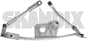 Linkage, Wiper mechanism 8659968 (1048520) - Volvo XC90 (-2014) - linkage wiper mechanism Genuine cleaning drive for hand left lefthand left hand lefthanddrive lhd vehicles window windscreen