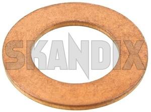 Seal ring, Oil drain plug 32022107 (1048805) - Saab 9-5 (-2010) - gasket seal ring oil drain plug Own-label