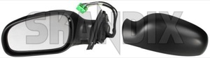 Outside mirror left 30634919 (1049362) - Volvo S60 (-2009), V70 P26 - outside mirror left Own-label actuator adjustment be cap cover covering electric electronically foldable folding for glass heatable left light memory mirror motor outside painted to with