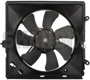 Electrical radiator fan left  (1049752) - Volvo S40 V40 (-2004) - cooler cooling fans electrical radiator fan left electrically engine fans fan motor Own-label air conditioner for left vehicles with