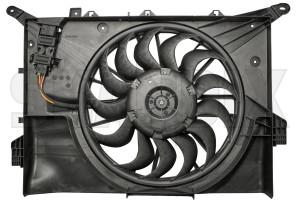 Electrical radiator fan 30749760 (1050179) - Volvo S60 (-2009), V70 P26, XC70 (2001-2007) - cooler cooling fans electrical radiator fan electrically engine fans fan motor Genuine
