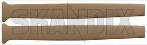 Interior panel B-pillar brown Kit for both sides  (1050297) - Volvo 220 - interior panel b pillar brown kit for both sides interior panel bpillar brown kit for both sides Own-label 501 230 501230 501 230 bpillar b pillar both brown drivers for kit left passengers right side sides