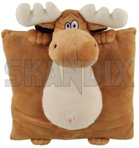 Pillow Elk  (1050379) - universal  - childrenpillow cushion nordic pillow elk souvenir swedenholidays swedenvacations swedishpillow travelpillow Own-label 300 300mm 450 450mm 90 90mm elk mm