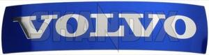 Emblem Kühlergrill Volvo 33 mm 135 mm 30796427 (1050638) - Volvo S60 (2011-2018), V60 (2011-2018), XC60 (-2017) - badges emblem kuehlergrill volvo 33mm 135mm embleme enbleme estate gelaendewagen kombi limousine plaketten s60 s60ii schriftzug sedan stufenheck suv v60 wagon xc xc60 Hausmarke 135 135mm 33 33mm aluminium blau blauer kuehlergrill mm rep reparaturteil repsatz satz volvo