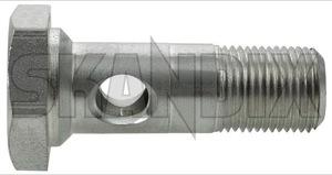 Hollow screw Oilfilter bracket - Crankcase 1378281 (1050907) - Volvo 700, 900 - hollow screw oilfilter bracket  crankcase hollow screw oilfilter bracket crankcase Genuine      bracket crankcase oilfilter