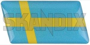 Aufkleber Schwedische Flagge  (1050919) - universal  - aufkleber schwedische flagge autoaufkleber funaufkleber fun aufkleber kleber sticker Hausmarke 26 26mm banner fahnen flagge flaggen gelaufkleber gel aufkleber mm schwedenfahne schwedenflagge schwedische sverige