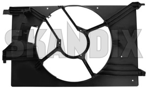 Housing, Radiator fan 12755783 (1051122) - Saab 9-3 (2003-) - housing radiator fan Genuine