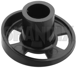 Cover, Seat adjustment 1204952 (1051265) - Volvo 200, 300 - cover seat adjustment Genuine black front seat seats