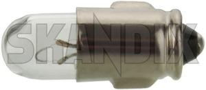 Bulb Interior light 6 V 2 W  (1052031) - Volvo 120 130 220, PV - bulb interior light 6v 2w Own-label 2 2w 6 6v ba7s interior light v w