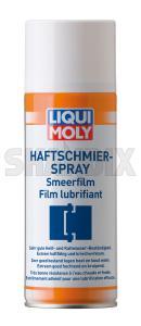 Lubricant Haftschmier-Spray 400 ml  (1052063) - universal  - lubricant haftschmier spray 400ml lubricant haftschmierspray 400ml liqui moly 400 400ml car door grease haftschmierspray haftschmier spray hinges lube ml service spray spraycan tacky