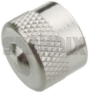Ventilkappe Metall  (1052567) - universal  - reifendruckventil reifenventil ventildeckel ventilkappe ventilkappe metall ventilverschlussdeckel Hausmarke metall ohne ventilschluessel