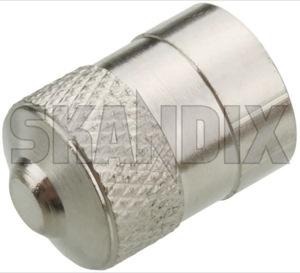 Ventilkappe Metall  (1052568) - universal  - reifendruckventil reifenventil ventildeckel ventilkappe ventilkappe metall ventilverschlussdeckel Hausmarke metall ohne ventilschluessel