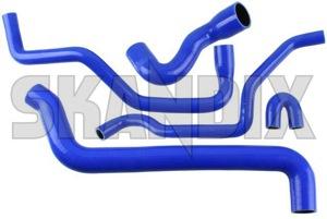 Radiator hose Silicone Kit  (1052591) - Saab 9-5 (-2010) - radiator hose silicone kit skandix kit silicone