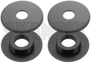Snap fastener Floor mat front 13299372 (1052989) - Saab 9-5 (2010-) - snap fastener floor mat front Genuine black car floor front mat