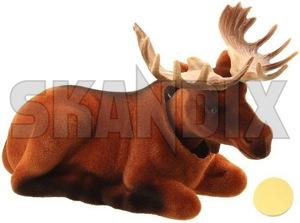 Wackelelch  (1053752) - universal  - dackel elch hutablage kultfigur maskottchen retro wackeldackel wackelelch wackelkopffigur walter wackel Hausmarke 100 100mm 160 160mm 70 70mm braun brauner hellbraun hellbrauner mm