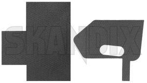 Gasket, Door lock front right 31416309 (1054432) - Volvo S80 (2007-), V70 (2008-), XC60 (-2017), XC70 (2008-) - gasket door lock front right seals Genuine front right