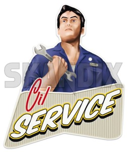 Oil Service reminder Tag Oil Change (vintage)  (1055470) - universal  - change changing checkbook engineoilchangeintervals engineoiljob engineoilservice inspection maintaince maintenance motoroilchangeintervals motoroiljob motoroilservice oil service reminder tag oil change vintage oil service reminder tag oil change vintage  oilchange oilchangeinvertals oilchangeservice oiljob oilservice service serviceintervals skandix vintage  vintage  74 74mm 88 88mm change mm oil tag wire with