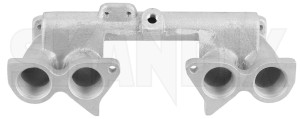 Intake manifold 418910 (1055851) - Volvo 120 130 220, 140, P1800, P1800ES, PV - 1800e intake manifold p1800e Own-label 6 carburetor carburettor double dual gasket gasket  hs hs6 intake manifold seals stage su twin two twostage without
