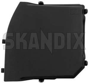 Cover, Battery box front Section 31353766 (1056023) - Volvo S60, V60, S60XC, V60XC (2011-2018), S80 (2007-), V70 (2008-), XC60 (-2017), XC70 (2008-) - batteryboxcover batteryboxlid batterycasecover batterycaselid boxcover boxlid cover battery box front section lid Genuine cs01 cs02 cs03 cs04 cs06 cs0d cs0f front section