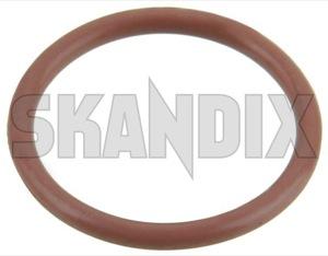 Seal ring, Sensor Crankshaft pulse 32019411 (1056143) - Saab 9-3 (-2003), 900 (1994-), 9000 - seal ring sensor crankshaft pulse Genuine cassette di oring o ring with without