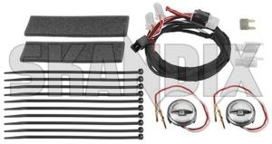 Ambient lighting Upgrade kit 32018009 (1058589) - Saab 9-3 (2003-) - ambient lighting upgrade kit interior light Genuine green kit led upgrade