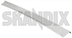 Drip rail moulding right front Section 1268041 (1059050) - Volvo 700 - drip rail moulding right front section trim moulding Genuine chromed front right section