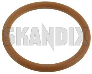 Seal ring, Sensor Crankshaft pulse 9117909 (1059193) - Saab 9-5 (-2010) - seal ring sensor crankshaft pulse Genuine oring o ring