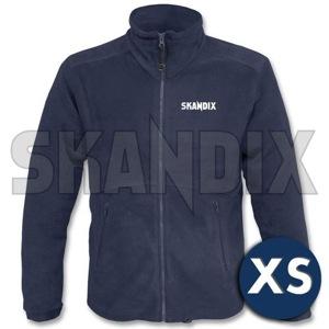Fleece Jacket SKANDIX Motorsport XS blue  (1059806) - universal  - coats fleece jacket skandix motorsport xs blue jackets Own-label blue front full imprint longsleeved long sleeved motorsport skandix with xs zipper