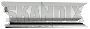 Drip rail moulding right centre Section 1325012 (1060263) - Volvo 700 - drip rail moulding right centre section trim moulding Genuine centre chromed right section