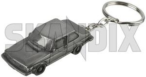 Key fob Saab 90  (1060415) - universal  - key fob saab 90 Own-label 90 resinaluminium resin aluminium saab