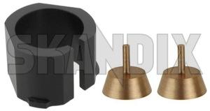 Ball socket, Tie rod Repair kit  (1060754) - Saab 900 (-1993), 99 - ball socket tie rod repair kit steering rack bushings pans Own-label kit repair repairkit repairset set