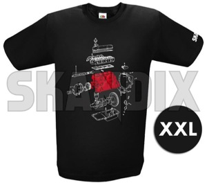 T-Shirt B18 / B20 - Legendary Engine XXL  (1061541) - universal  - hemden shirts t shirt b18  b20  legendary engine xxl tshirt b18 b20 legendary engine xxl Hausmarke      /    1/2 12 1 2 aermellaenge b18 b20 bedruckt engine legendary rundhals schwarz schwarzer xxl