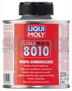 Gummi-Klebstoff 200 ml  (1061688) - universal  - dichtungskleber gummi klebstoff 200ml gummikleber gummiklebstoff gummiklebstoff 200ml kleber klebstoffe profilkleber liqui moly 200 200ml dose ml pinseldose