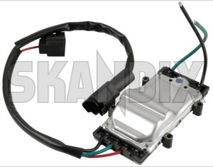 Control unit, Radiator fan  (1062043) - Volvo S60 (-2009), S80 (-2006), V70 P26, XC70 (2001-2007) - control unit radiator fan coolerfan coolingfan radiatorfan Own-label