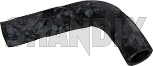 Heater hose 1308382 (1062291) - Volvo 700, 900 - heater hose Genuine air conditioner exchanger for heat outtake upper vehicles without