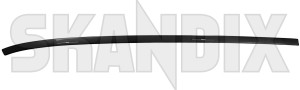 Drip rail moulding left 12775634 (1062602) - Saab 9-3 (2003-) - drip rail moulding left trim moulding Genuine be for left painted rail roof to vehicles without