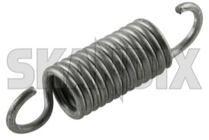 Spring, Seat Seat back, Front seat 6847023 (1064716) - Volvo 200, 700, 900, S90 V90 (-1998) - car seats springs cushion springs seat core seat frame springs spring seat seat back front seat upholstery springs Genuine adjustable back back  electrically for front seat seats spring tension vehicles without