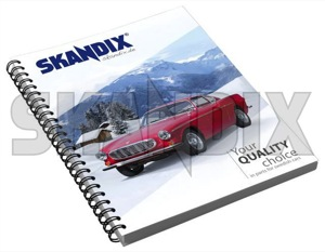 Writing pad Volvo P1800 DIN A5  (1066680) - universal  - college jotter notebook writing pad volvo p1800 din a5 Own-label 80 80pages a5 binding din p1800 pages ruled spiral volvo wire