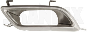 Tailpipe trim right 12779946 (1066768) - Saab 9-5 (2010-) - embellisher exhaust tail pipes muffler decor pipes tailpipe covers tailpipe trim right Genuine aero for model right