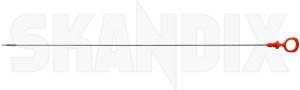 Oil dipstick 464809 (1066802) - Volvo 200, 700, 900 - oil dipstick Genuine
