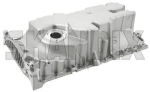 Oil pan 31339208 (1066842) - Volvo C30, C70 (2006-), S40 V50 (2004-), S60 V60 (2011-2018), S80 (2007-), V70 XC70 (2008-), XC60 (-2017) - oil pan Genuine