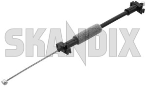 Cable, Lock cylinder front fits left and right 31349498 (1066954) - Volvo S40 V50 (2004-), XC60 (-2017) - bowden cable cable lock cylinder front fits left and right locking system cables steel wire Genuine and fits for front keyless left locking right system vehicles with without