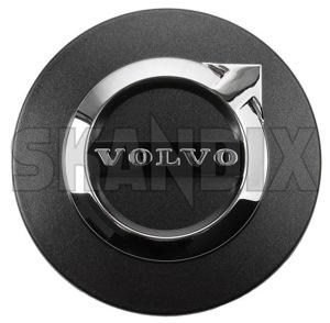 Original Volvo XC90 Nabenkappen 31414935 Radkappe Dark Grey ET-Nr.